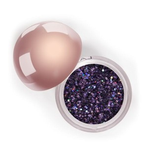 Lasplash Crystallized Glitter Bachelorette Blush